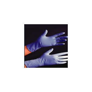 GUANTE EXAMEN LATEX AZUL M TOP GLOVE